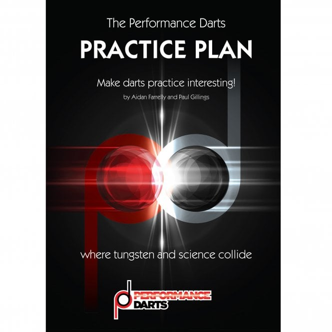 Performance Darts Training Aid - DPC - Booklet - 8 Week Course - Practice Plan