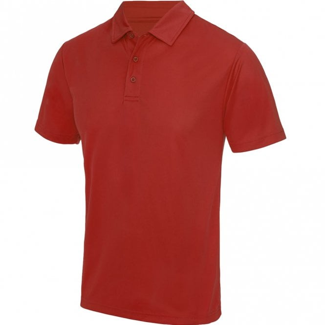 Designa Junior Dart Shirts - Team Polo - Just Cool Youth - Red