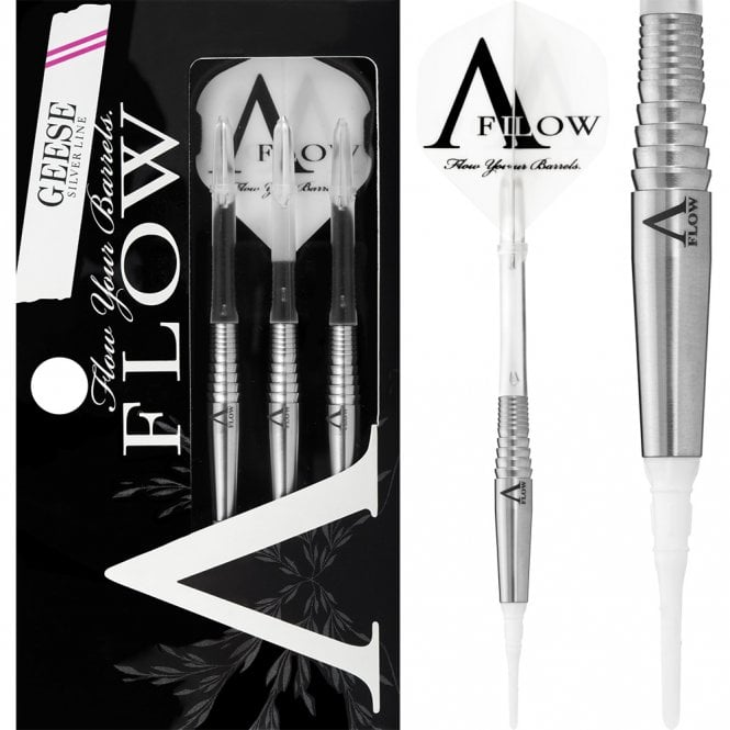 Dynasty  Darts - Silver Line - Soft Tip - Geese