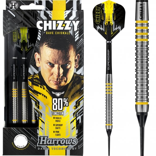 Harrows  Dave Chisnall Darts - Soft Tip - Chizzy - 18g