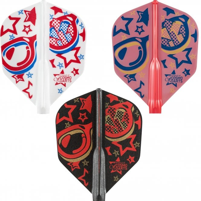Cosmo Darts Cosmo Fit Flight AIR - Player - Shape - Mixed - Kevin Leung
