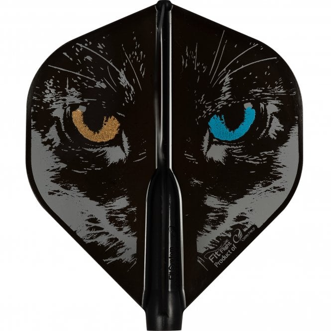 Cosmo Darts Cosmo Fit Flight AIR - Player - Std - Black - Robin Curry - Eyes