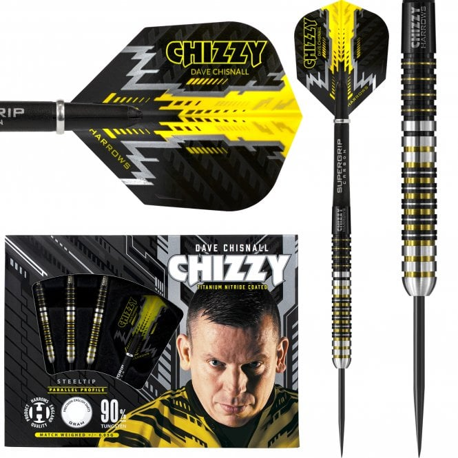 Harrows  Dave Chisnall Darts - Steel Tip - Chizzy - S1