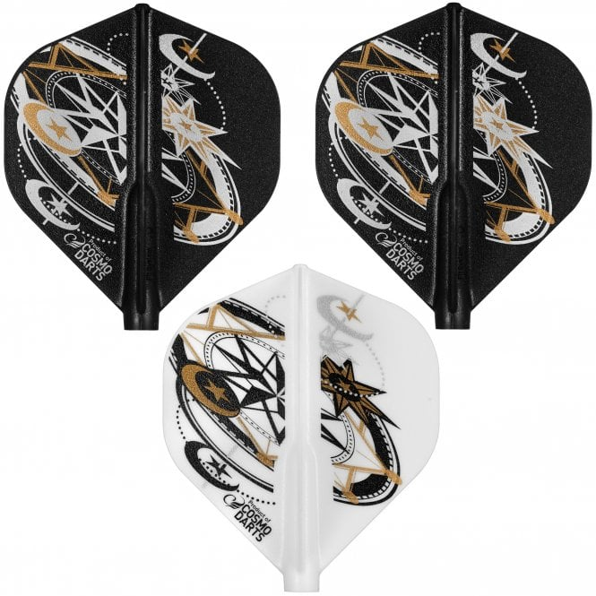 Cosmo Darts Cosmo Fit Flight - Player - Standard - Mixed - Jacques Labre