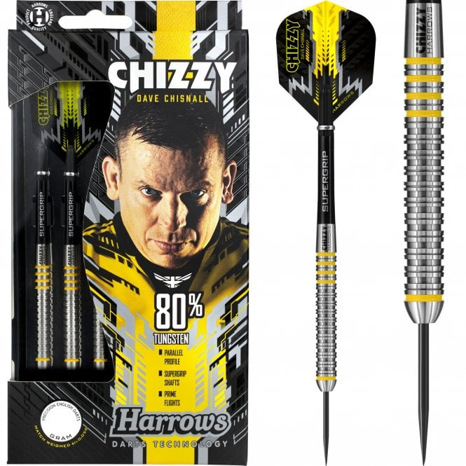 Harrows  Dave Chisnall Darts - Steel Tip - Chizzy