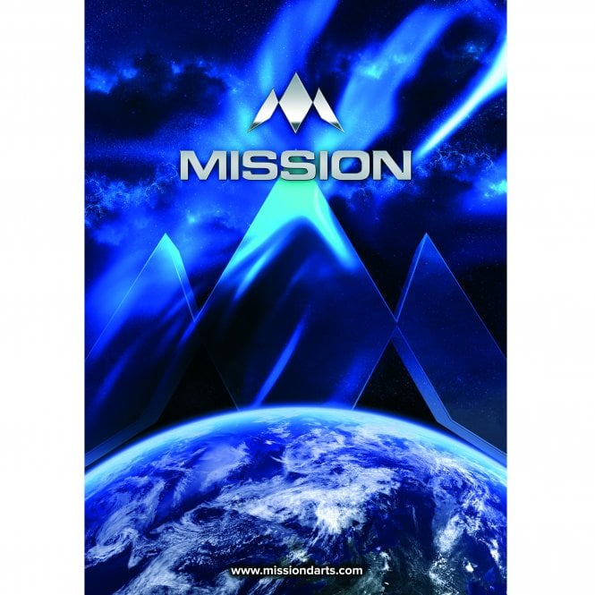 Mission  Darts - Poster - A3 - 420mm x 297mm - Earth