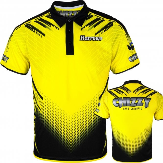 Harrows Dave Chisnall Official Dart Shirt - Chizzy
