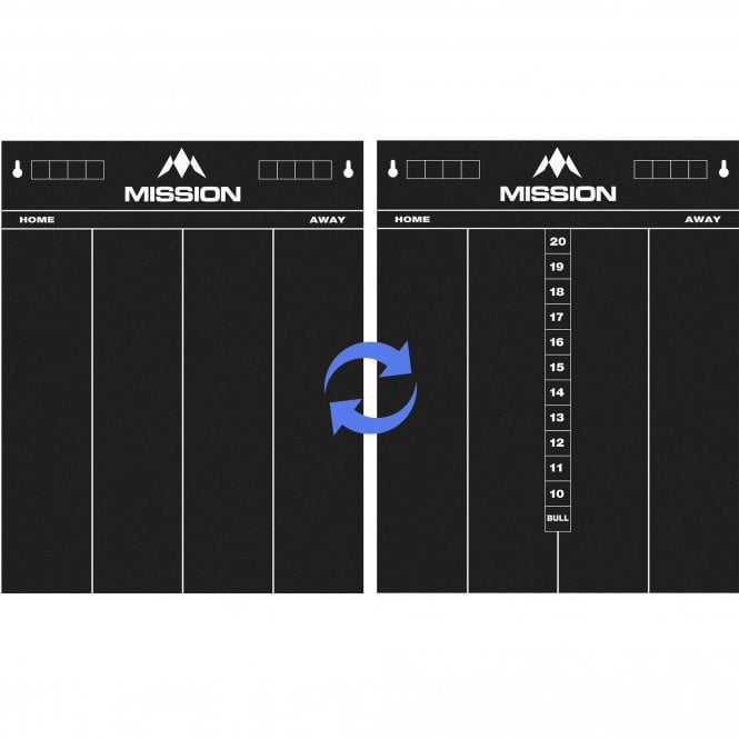 Mission  Marker Boards - Chalkboard - 2 Sided - 501 and Cricket