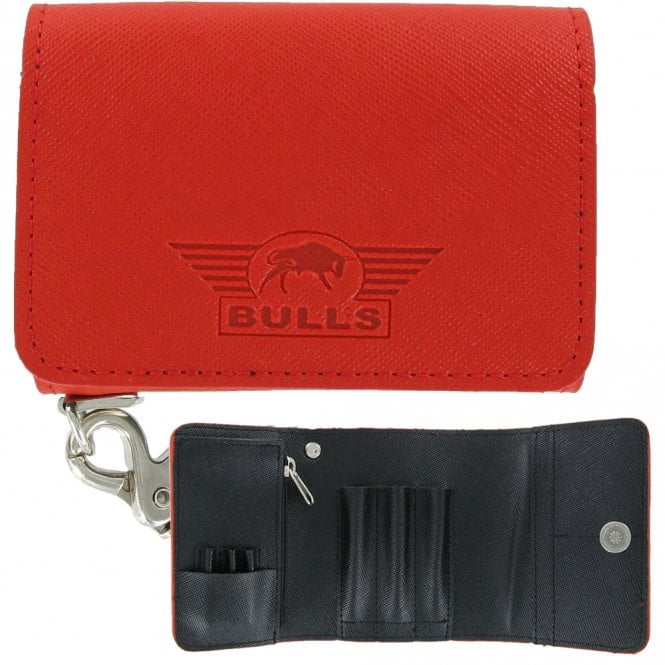 Bulls * - Fighter Wallet - Stylish and Compact - Red