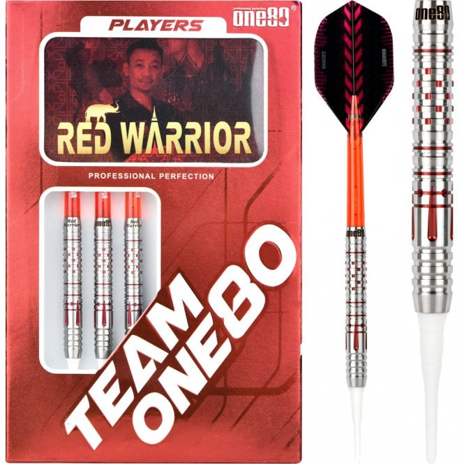 One80  Yong Thanawat Darts - Soft Tip - Red Warrior