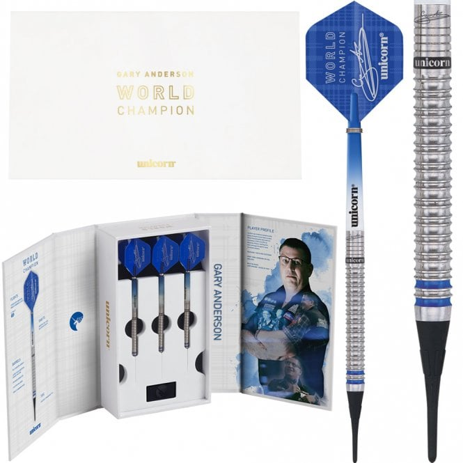 Unicorn  WC Deluxe - Soft Tip - Gary Anderson