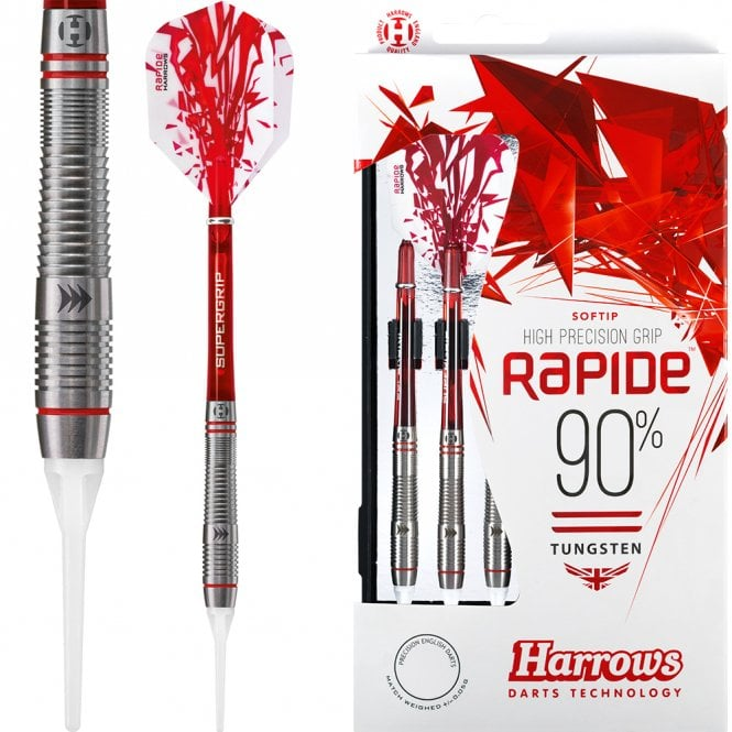 Harrows  Rapide Darts - Soft Tip - Style A - Ringed