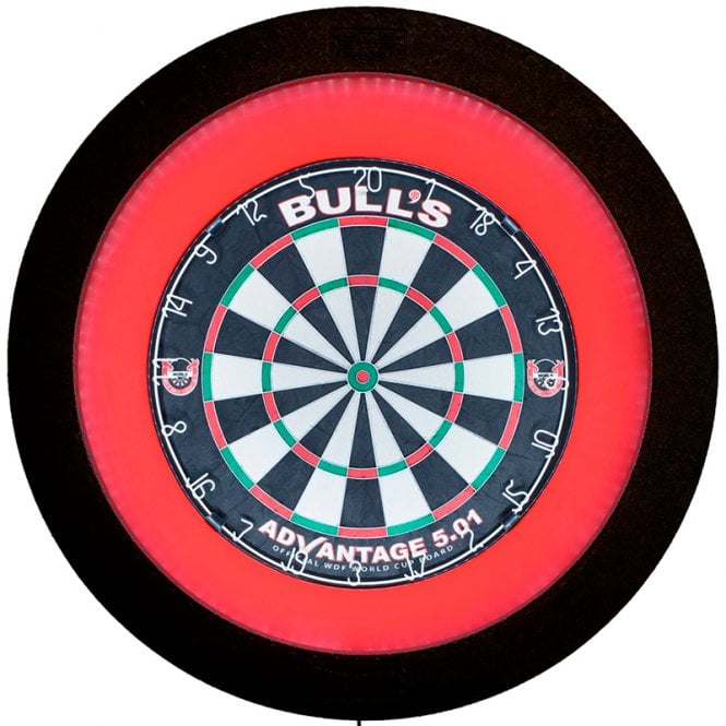 Bulls  Termote 2.0 - LED Dartboard Light & Dimmer - with Black Surround