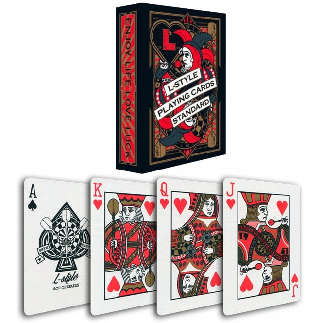L-Style  Playing Cards - Professional Quality - Standard - Full Deck