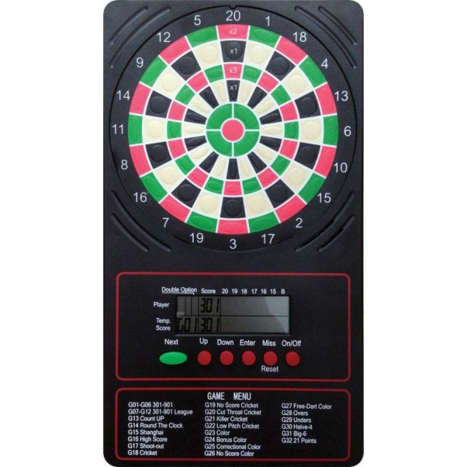 Arachnid  LCD Touchpad Scorer - Easy To Use - Electronic Darts Scoring