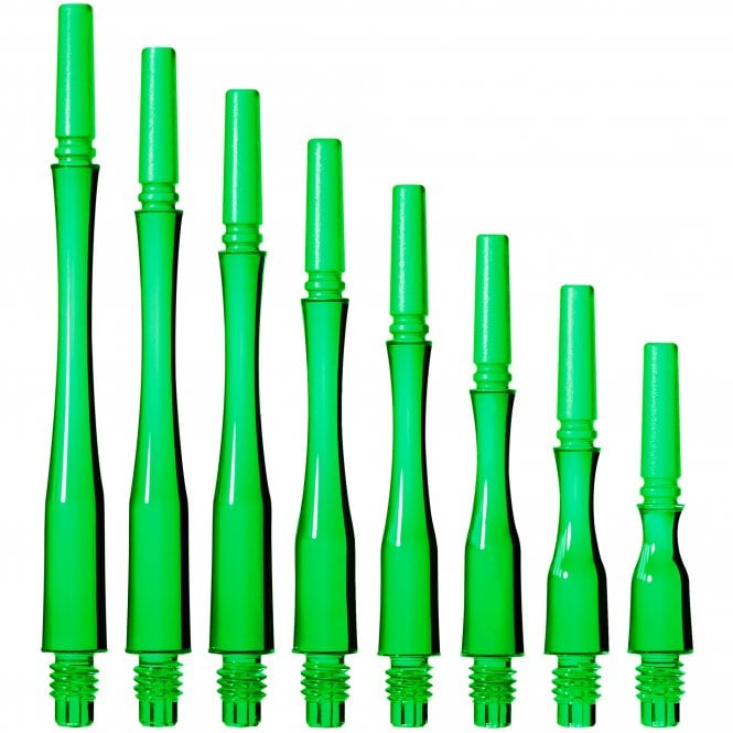 Cosmo Darts Cosmo Fit Shaft Gear - Locked - Hybrid - Clear Green