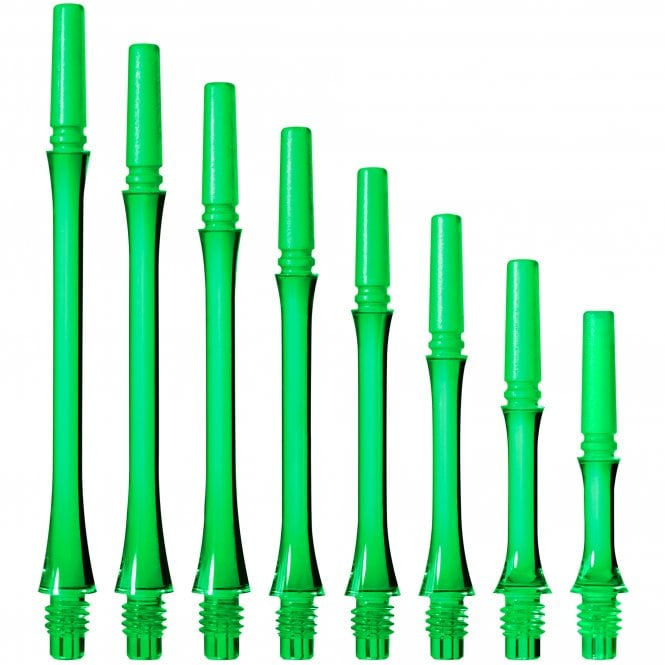 Cosmo Darts Cosmo Fit Shaft Gear - Locked - Slim - Clear Green