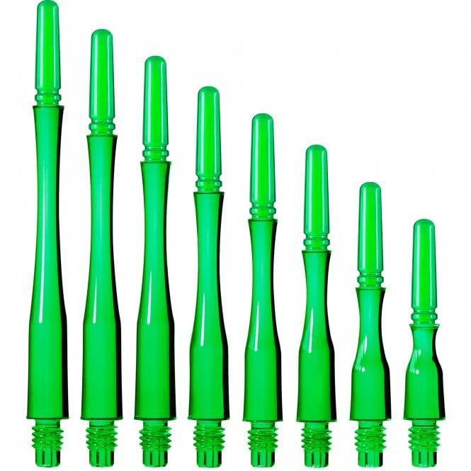 Cosmo Darts Cosmo Fit Shaft Gear - Spinning - Hybrid - Clear Green