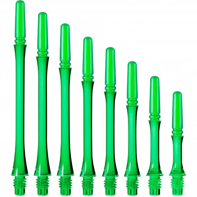 Cosmo Darts Cosmo Fit Shaft Gear - Spinning - Slim - Clear Green