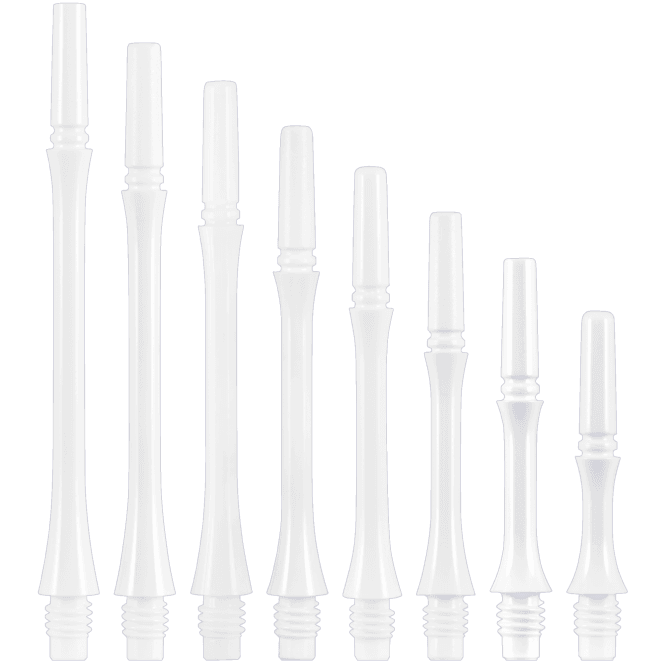 Cosmo Darts Cosmo Fit Shaft Gear - Locked - Slim - White