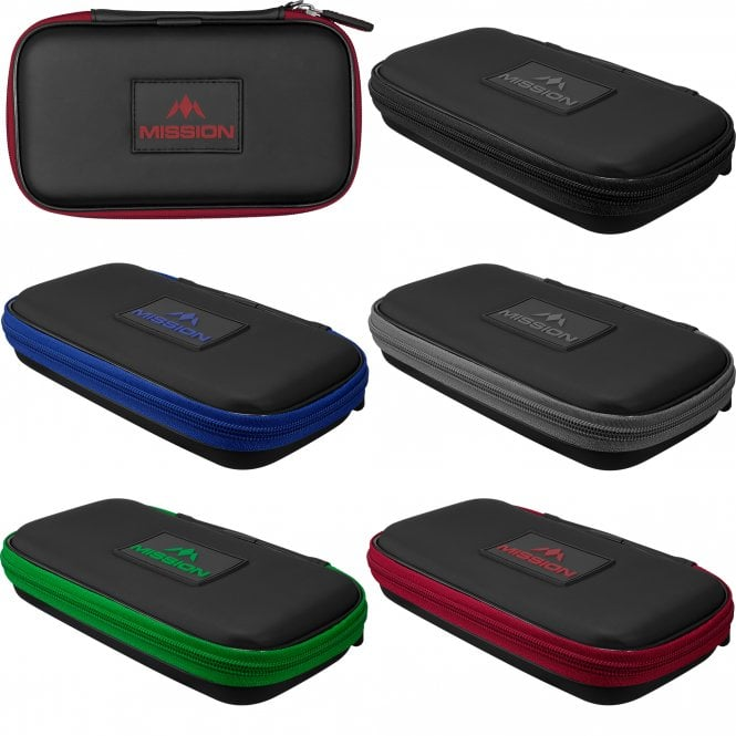 Mission  Freedom XL Darts Case - Strong Protection - Black