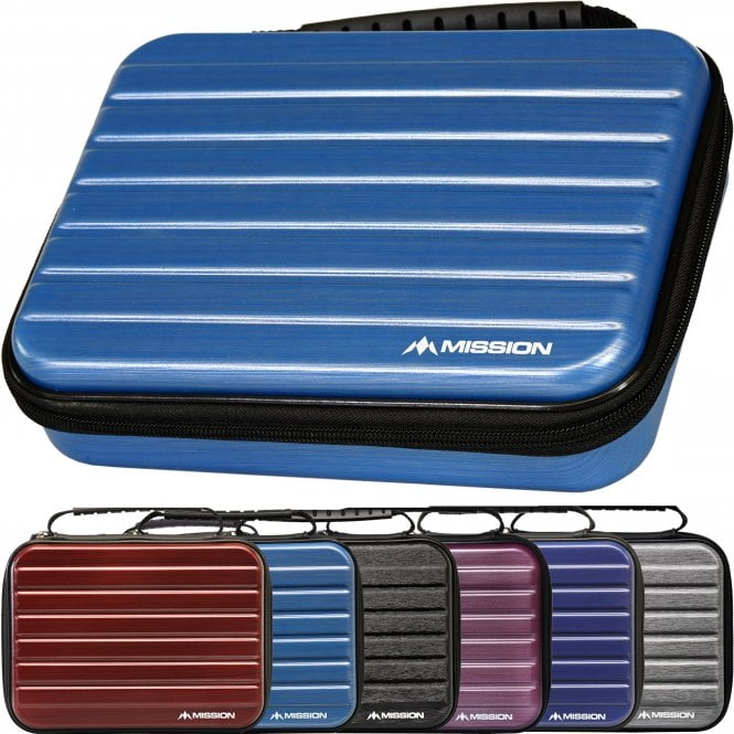 Mission  ABS-4 Darts Case - Strong Protection - Metallic