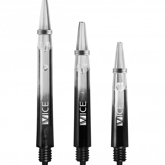 One80  Vice Gradient Shafts - Clear - Black