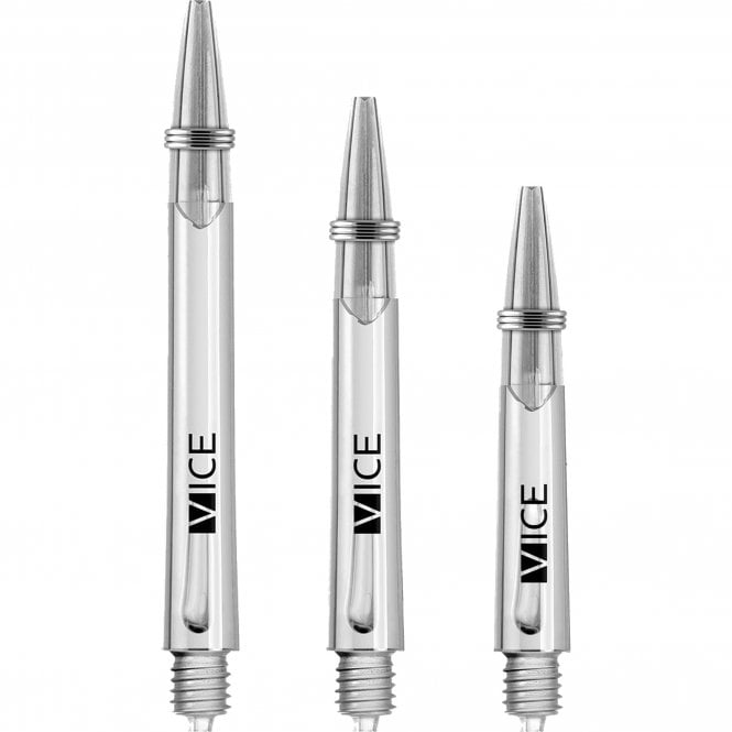 One80  Vice Shafts - Stems with Springs - Clear