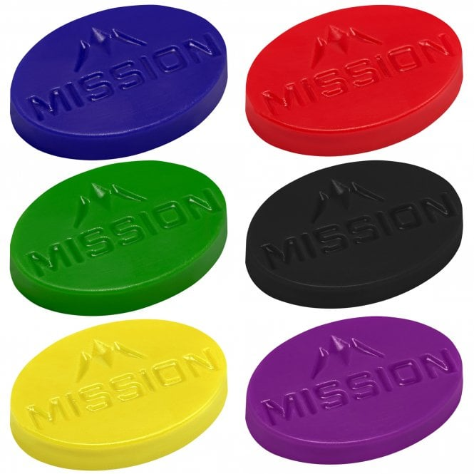 Mission  Grip Wax with Logo - Scented - 7mm