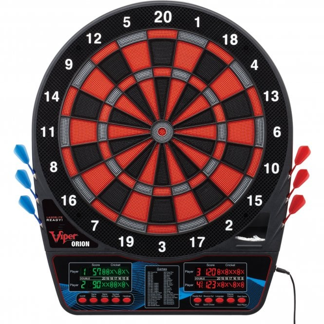 Viper  Orion Electronic Dartboard - Ultra Thin Spider - Professional