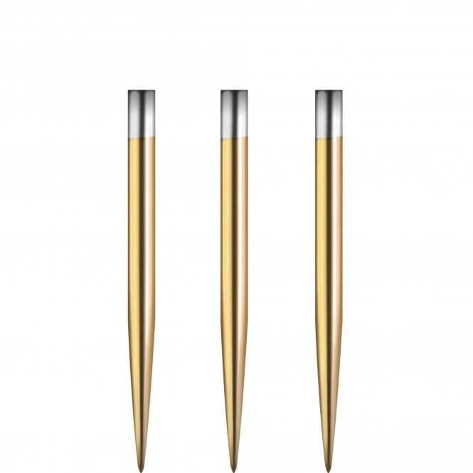 Winmau  - Replacement Spare Points - Smooth - Gold