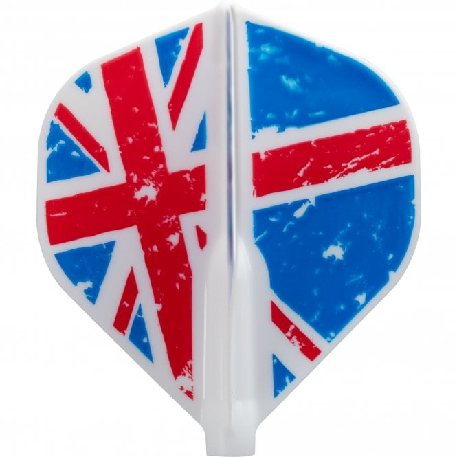 Cosmo Darts Cosmo Fit Flight AIR - Juggler - Standard White - Union Jack