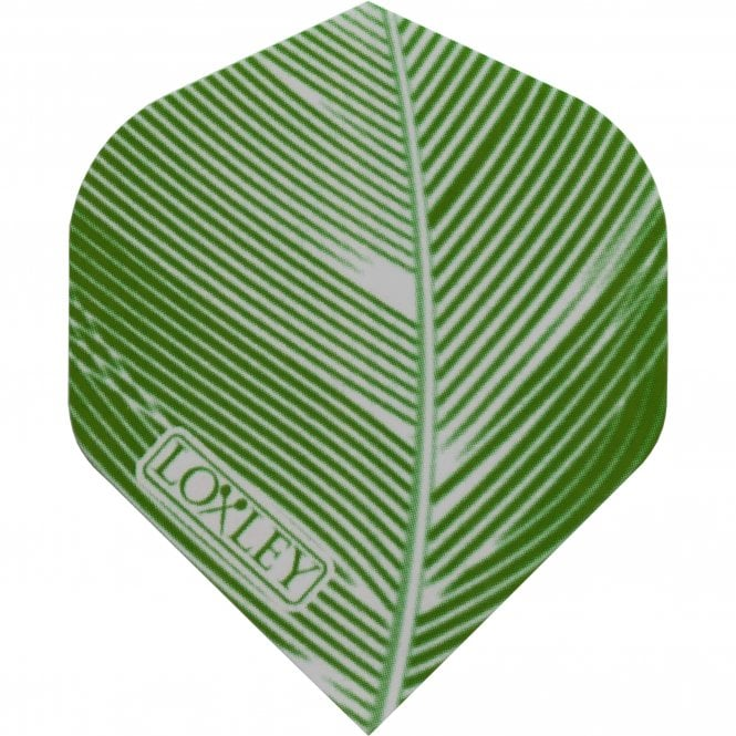 Loxley  Feather 150 Dart Flights - No2 - Std - Green