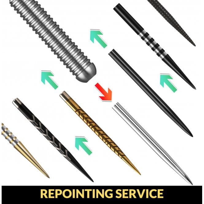 Darts Repointing Service for New or Old Darts - Just Add Points