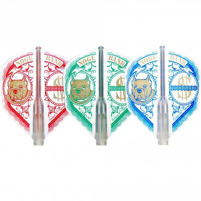 Cosmo Darts Cosmo Fit Flight AIR - Shape - Clear - Mix - Shunpei Noges 3