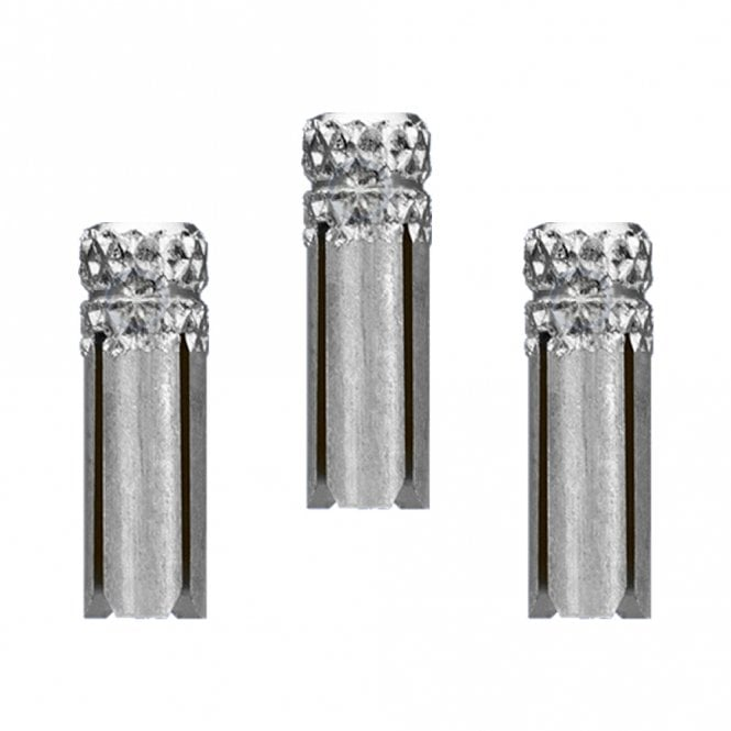 Target * Dart Flight Protectors - Finished Alloy - Pack 3 - Silver