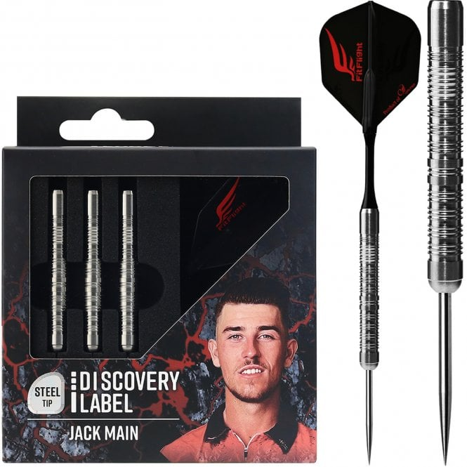 Cosmo Darts  - Discovery Label - Steel Tip - Jack Main