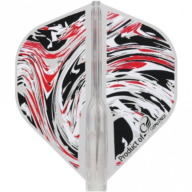 Cosmo Darts Cosmo Fit Flight Air - Standard - Clear - Marble